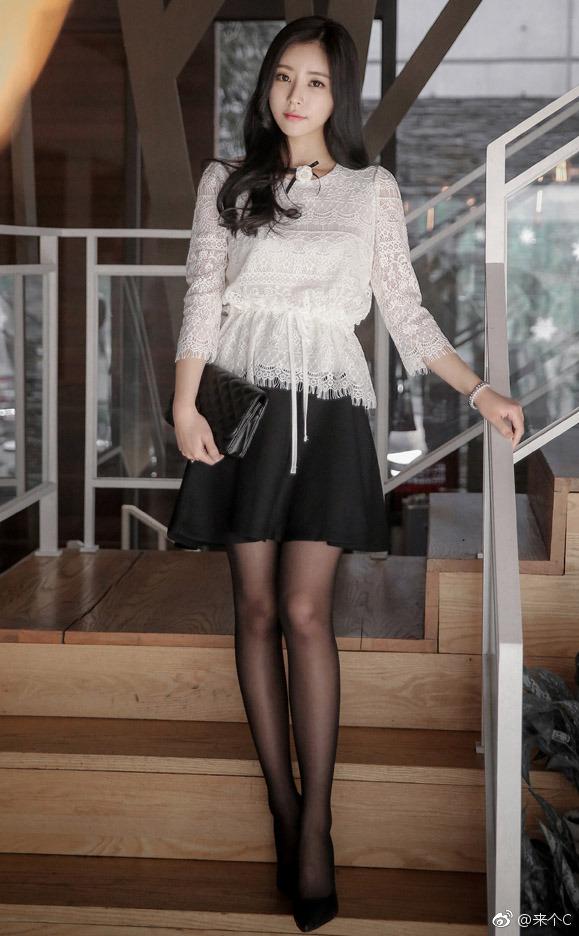 韩国风范的女同事