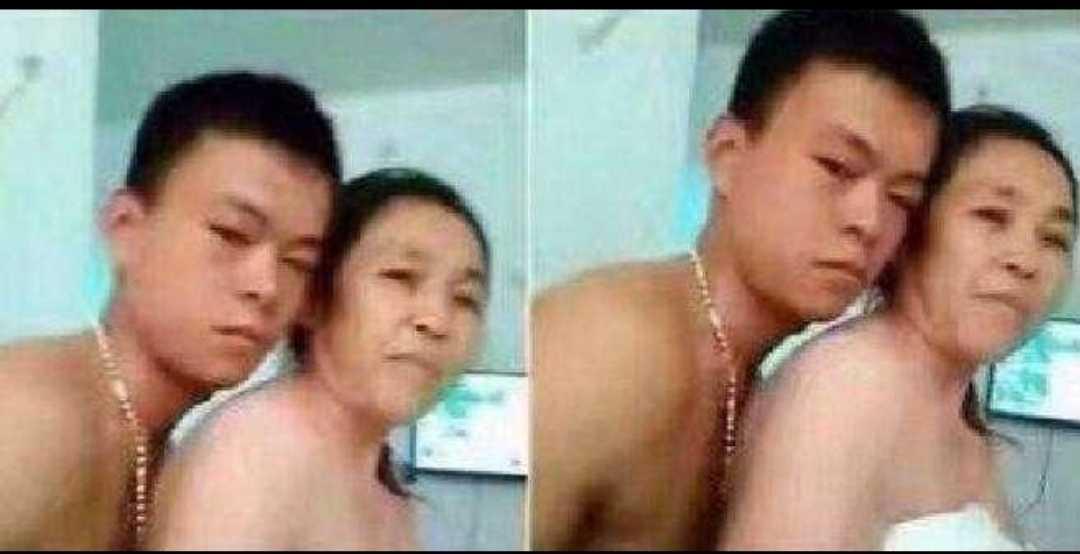 奇葩!20岁小伙跟60岁大妈谈恋爱~