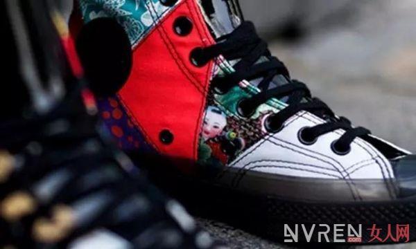 轻描几笔!中国风年画球鞋合集