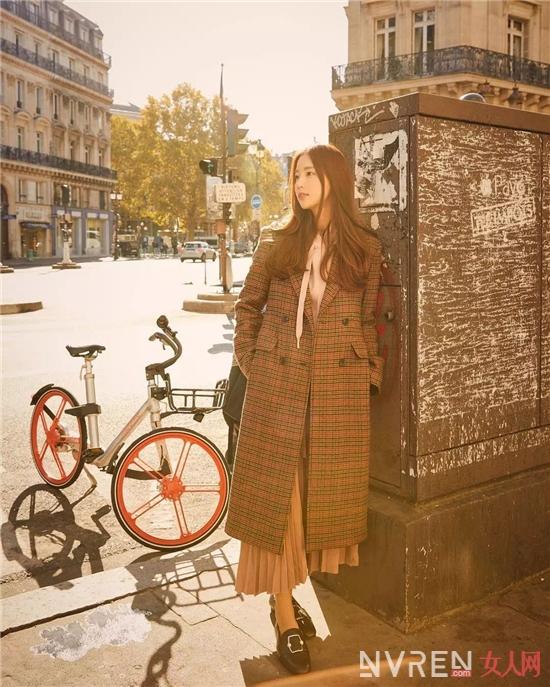 大衣+裙子,冬天这么穿美炸了!