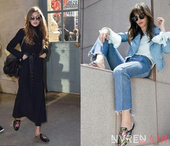 穿上这三款穆勒鞋搭配各种服装打造出不同的慵懒感