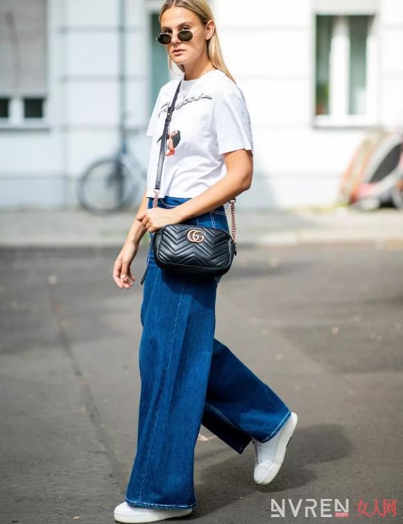 T恤+阔腿裤穿搭需要遵循哪些时尚规律