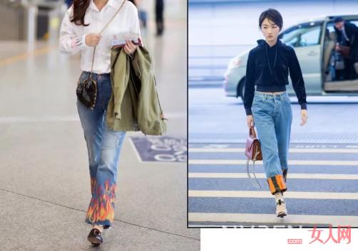 开春这3条牛仔裤让你看起来更加显高也更加的吸睛