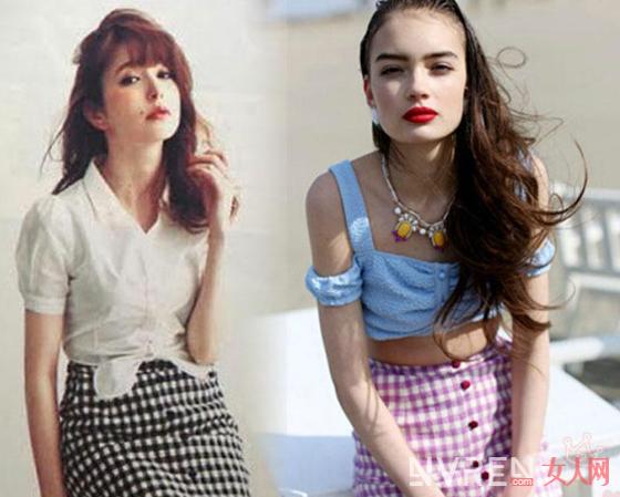 夏季如何用这2款纽扣裙穿出复古时髦气息