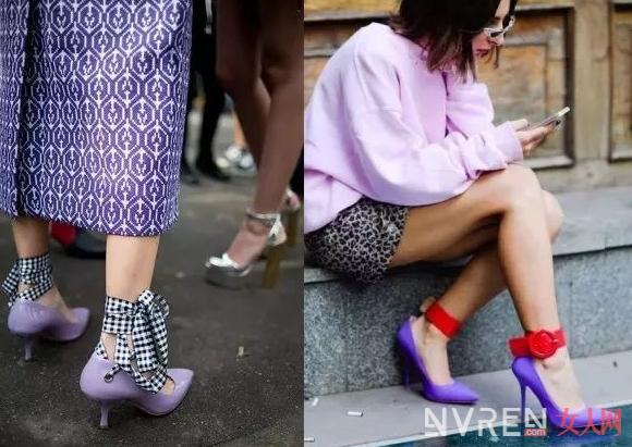 夏季如何用紫色演绎出各种时尚风采