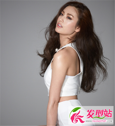 韩国女星NANA发型集锦 清新修颜显灵动