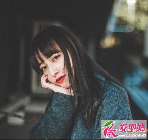 2017流行什么样的刘海?减龄厚刘海强势回归