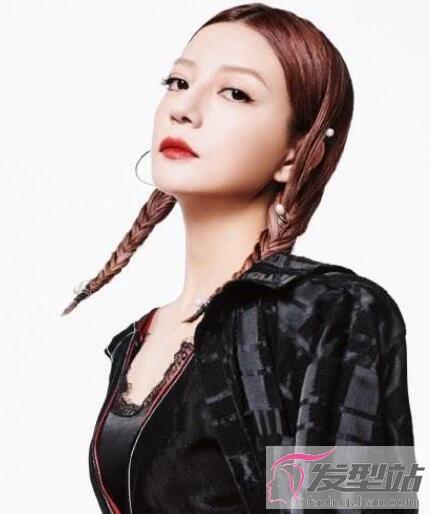 赵薇编发发型叫什么 多种编发造型很有女人味