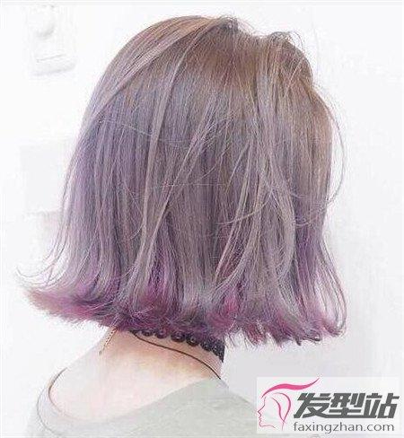 """发梢染什么颜色好看 """"灰色底""""渐变发尾美出天际"""