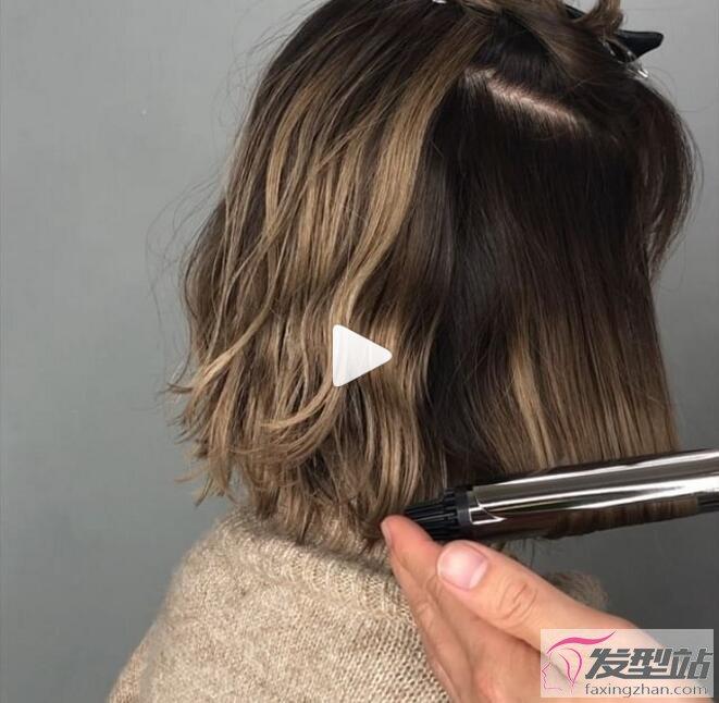 短发烫发发型潮女 微乱蓬蓬短发让男人看了就想揉你的头