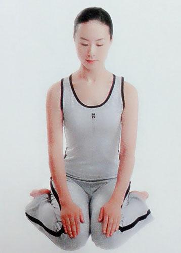 瑜伽冥想4种坐姿