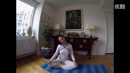 【kriya瑜伽·初级体式教程】 肩颈活动式